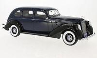 1937 LINCOLN V-12 Model K Limousine Dark blue / Black by BoS Models LE 504 1/18