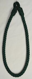 """Curtain & Chair Tie Back -24""""spread rope - ~3/8"""" wide -18 colors to choose from!"""