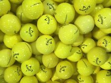 40 x CALLAWAY SUPERSOFT YELLOW GOLF BALLS - AA/B CONDITION *CLEARANCE OFFER*