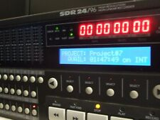 Mackie SDR 24 Track Recorder with 20 GB Internal Hard Drive Excellent Condition