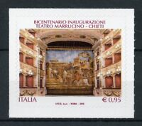 Italy 2018 MNH Marrucino Theater Chieti 1v S/A Architecture Stamps