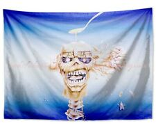 hippie trippy Iron Maiden tapestry cloth poster bedroom ideas