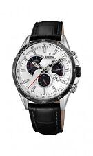 Festina Herrenuhr Uhr Chronograph Tag Datum Armbanduhr Leder F20201/1