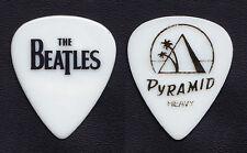 Cheap Trick Tom Petersson Beatles Heavy White Guitar Pick - 2009 Tour