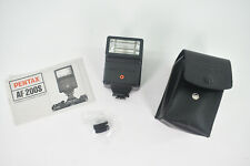 Pentax AF200s Flash Unit with Case and Manual - Excellent