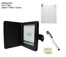 Bundle für Cybook Odyssey HD: Tasche & Stift & Folie f Odyssey HD Case Pen Cover