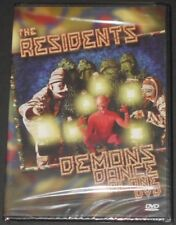 THE RESIDENTS demons dance alone USA DVD new sealed LIVE USA 2002
