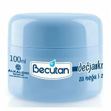 2 X 100ml ORIGINAL BECUTAN BABY SKIN CARE PROTECTION CREAM DECIJA KREMA ZA NEGU