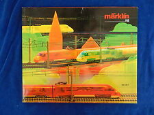 MARKLIN - TRAIN - CATALOGUE / Catalog - VINTAGE - 1987/88F - TOP !