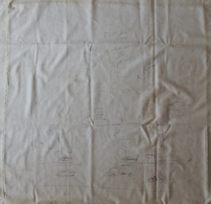 Muhammad Ali signed autographed used pillowcase with sketches! RARE! Authentic!