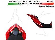 4 Adesivi per codino Ducati Panigale V4