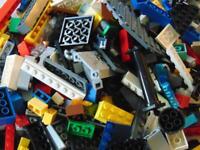 500 g Genuine Random Lego Bricks, Parts & Pieces Joblot Bundle