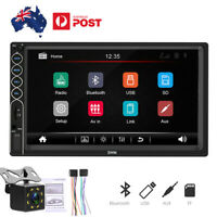 Double Din Car Stereo 7 Inch Touch Screen Head Unit MP5 Player USB FM Bluetooth