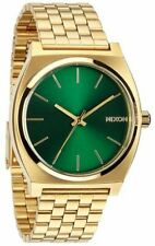 Nixon Watch Time Teller Gold / Green Sunray A045-1919
