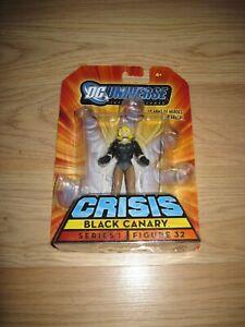 2008 Mattel DC Universe Series 1 Black Canary Crisis Figure 32/Free Shipping!