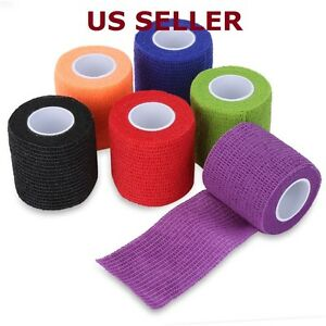 Waterproof Self Adhesive Bandage Tape Finger Joints Wrap Sports Care