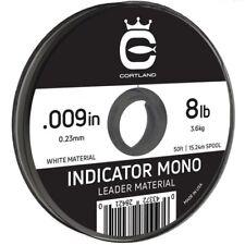 "Cortland Indicator Mono - White - 009"" / 8lb - 50ft"