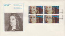 CANADA #615 8¢ JEANNE MANCE UR PLATE BLOCK FIRST DAY COVER