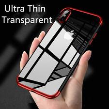Housse Etui Coque Bumper Antichocs gel silicone TPU Apple iPhone 6(s) Plus rouge