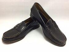 Mocasines de uniforme de colegiala japonesa auténtica cuero zapatos, 24,5 cm, UK6 (O865)