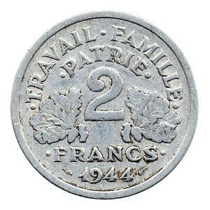 KM# 904.2 - 2 Francs - France 1944 B (F)