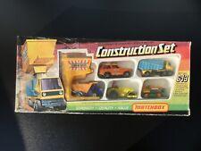 Matchbox Gift Set G13 Construction Set  Neuwertig unbespielt