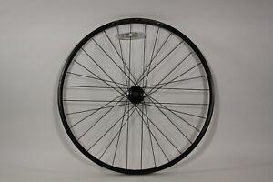 Oval Vera DPD22 27.5/650b Disc Front Wheel Oval 6 Bolt Hub, 9x100mm 32h Blk F28