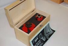 Genuine Freud Pro 2 Piece Router Set, Raised Panel Door Routing Bit Kit 92-10650