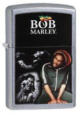 Zippo 29572 Bob Marley Street Chrome Finish Full Size New Lighter
