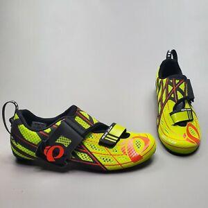 Pearl Izumi Men's Tri Fly P.R.O v3 Road Cycling Shoes Triathlon Size EU 38, 42