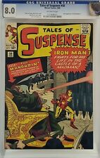 TALES OF SUSPENSE #50 CGC 8.0 1ST MANDARIN IRON MAN