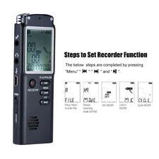 USB Mini Voice Activated Digital Recorder 8G Small Audio Recording Handheld New