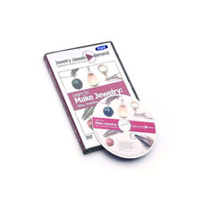Dvd Learn To Make Jewelry Wire, Finishing & Design Basics By Linda Augsburg