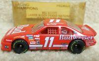 1993 Racing Champions 1:64 NASCAR Bill Elliott Bud Budweiser Premier 1st Win Car