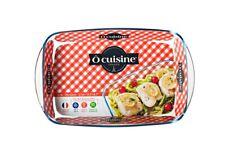 Ocuisine Rectangular Glass Roaster Dish 35x22cm  [9965]