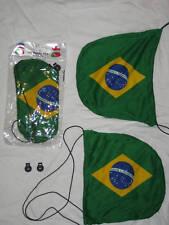 Brazil - Car Mirror Cover, Mirror Sox, Mirror Flag