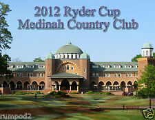 Ryder Cup Poster / 2012 - Medinah Country Club -  Golf Poster - 17x22