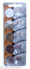 CR2025 Lithium 5-Pack Batteries Strip - Genuine Maxell