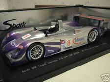 AUDI R8 5th LE MANS 2004 #8 VELOQX 1/18 SPARK S1804 voiture miniature collection