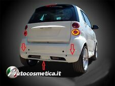 SMART CAR FORTWO 451 LOWER REAR BUMPER SECTION / SPOILER TUNING