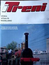 I Treni 99 1989 Poster Locomotiva Trifase E 554 - Elaborazione Ale 601