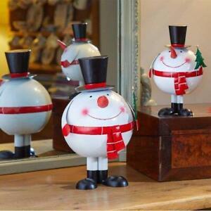Three Kings Wobbly Snowman Christmas Ornament