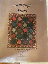Spinning Stars by Karen K. Stone - Quilt pattern - unused.
