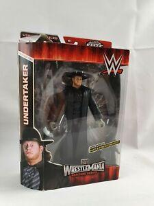 WWE Elite Mattel Wrestlemania Heritage Series Undertaker Figure Boxed