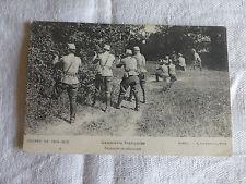 - GUERRE 1914 cpa cavalerie française chasseurs en embuscade