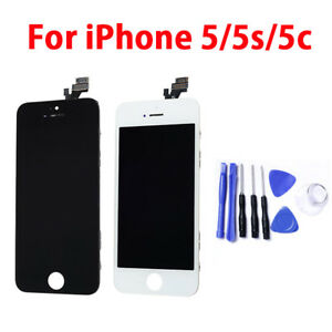 LCD Display Touch Screen Digitizer Assembly Replacement For iPhone 5 5S 5C HQ..