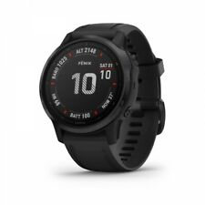 Garmin fenix 6s Pro Multisport Gps Watch - Black with Black Band 010-02159-13