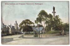 HADDINGTON Knox Institute & Ferguson Monument Postcard Postally Used 1904