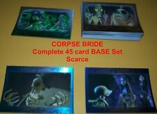CORPSE BRIDE    COMPLETE BASE SET  45 Cards