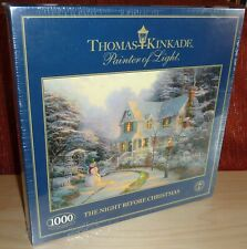 NEW - GIBSON NIGHT BEFORE CHRISTMAS 1000 PC JIGSAW PUZZLE - BY THOMAS KINKADE
